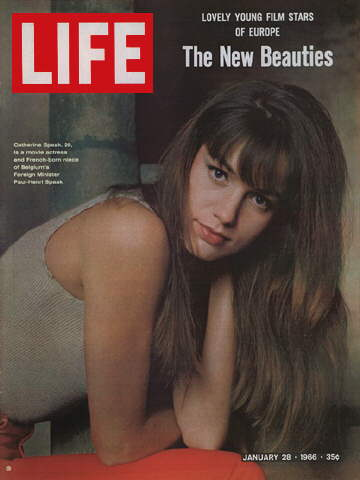 ACTRESS CATHERINE SPAAK