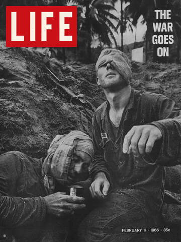 WOUNDED GIS IN VIETNAM