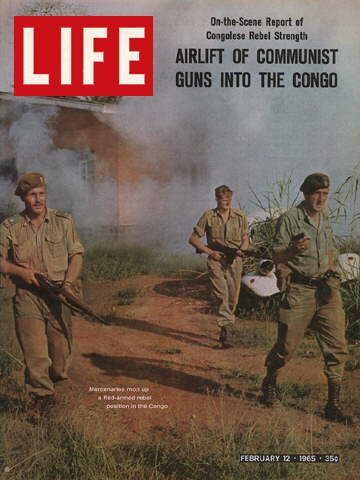 MERCENARIES IN THE CONGO