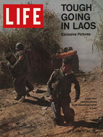 SOUTH VIETNAMESE SOLDIERS IN LAOS