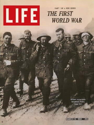 WORLD WAR I BRITISH WOUNDED