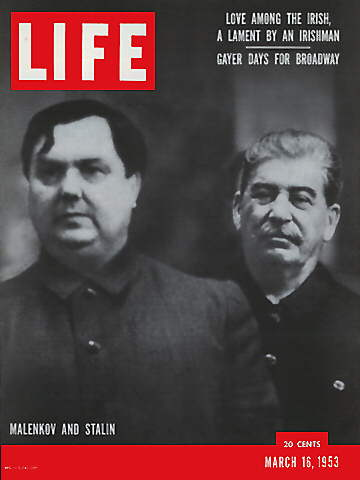 MALENKOV AND STALIN