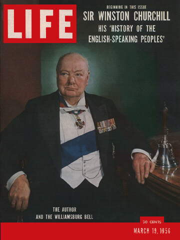 CHURCHILL ON BRITAIN