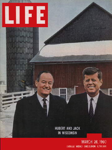 HUBERT H. HUMPREY AND JOHN F. KENNEDY