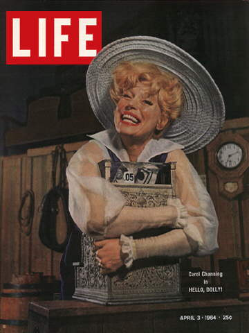 CAROL CHANNING AS DOLLY