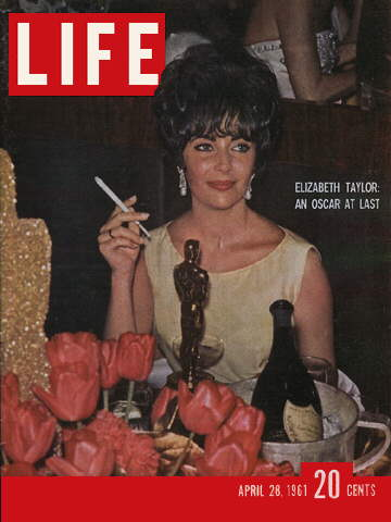 OSCAR FOR ELIZABETH TAYLOR