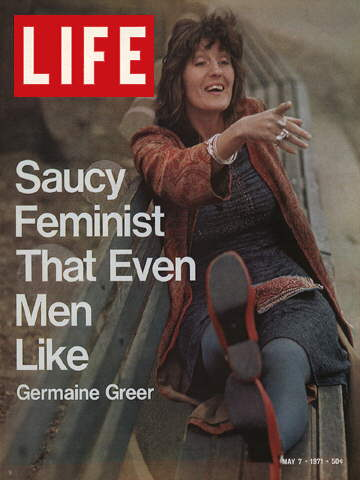 FEMINIST GERMAINE GREER