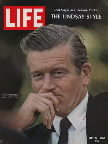 NEW YORK CITY MAYOR JOHN LINDSAY