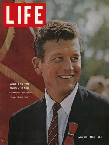 NEW YORK CONGRESSMAN JOHN LINDSAY