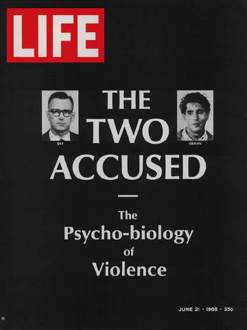JAMES EARL RAY AND SIRHAN SIRHAN