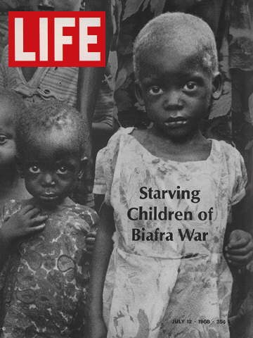 STARVING CHILDREN OF BIAFRA