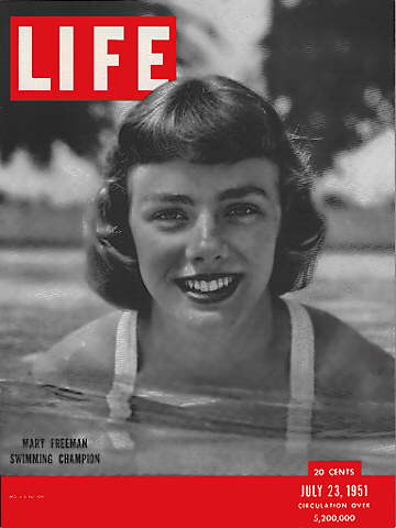 SWIMMER MARY FREEMAN