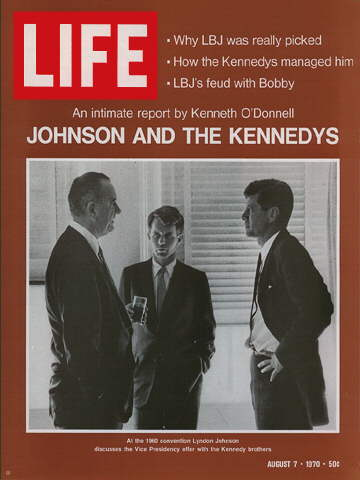 LYNDON B. JOHNSON, ROBERT F. , AND JOHN F. KENNEDY