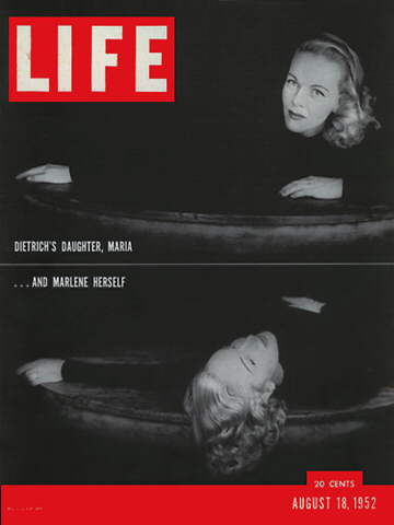 MARLENE DIETRICH AND DAUGHTER
