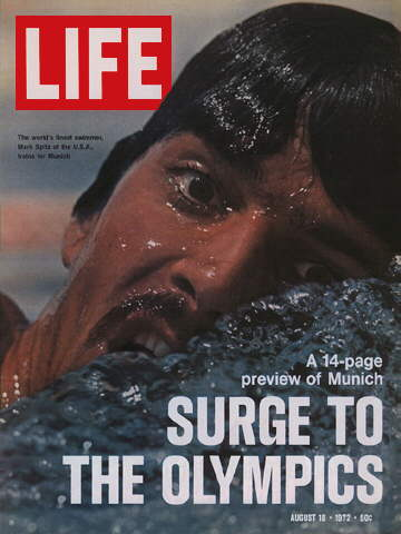 OLYMPIC SWIMMER MARK SPITZ