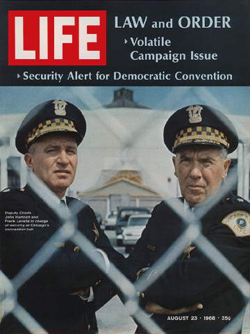 SECURITY CHIEFS AT CHICAGO CONVENTION