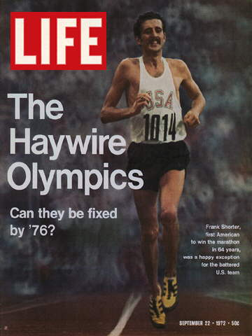 OLYMPIC MARATHONER FRANK SHORTER