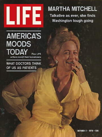 ATTORNEY GENERAL'S WIFE MARTHA MITCHELL