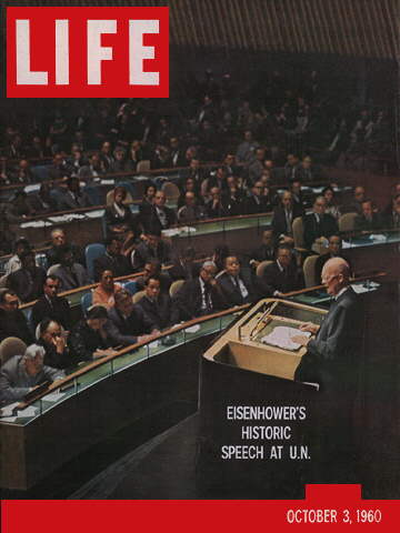 EISENHOWER AT UNITED NATIONS