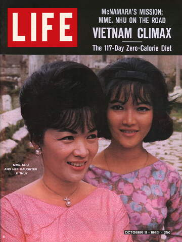 VIETNAM'S MADAME NHU WITH DAUGHTER