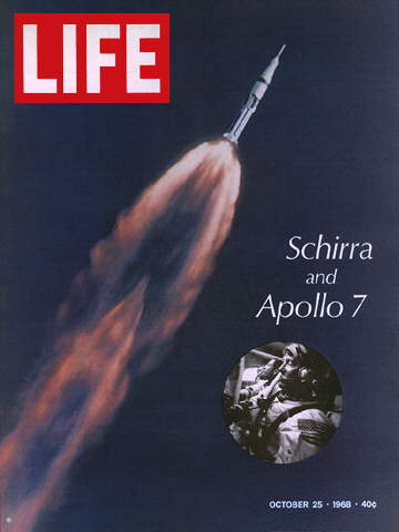 APOLLO 7 AT TAKE-OFF