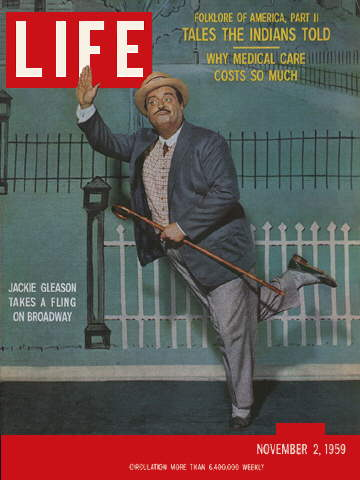 JACKIE GLEASON ON BROADWAY