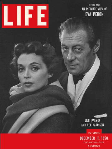 LILLI PALMER AND REX HARRISON