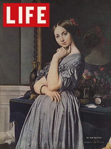 INGRES PORTRAIT